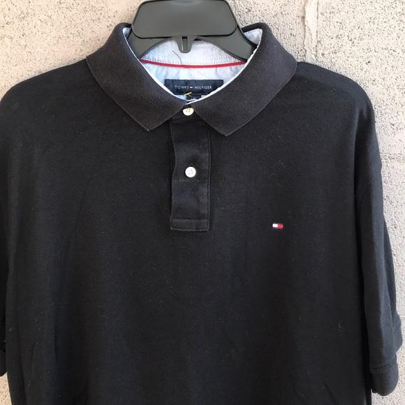 Tommy Hilfiger Other - Men's black Tommy Hilfiger polo shirt
